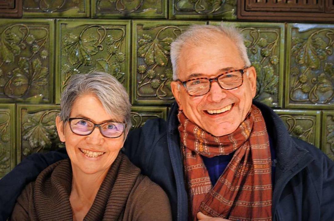 Christiane und Karl Meier  | Foto: Kathrin Blum