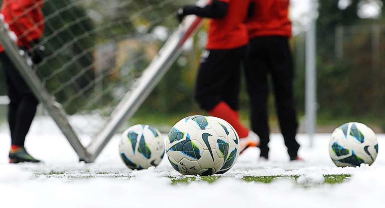 Der SC Freiburg II muss warten: In Hom...lfeldern derzeit kein Fußball möglich.  | Foto: Patrick Seeger