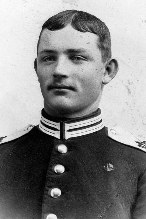 Albert Weis aus Simonswald reiste als ...kommandierten deutschen Kriegsschiffe.    Foto: Archiv: Hans-Jürgen Wehrle
