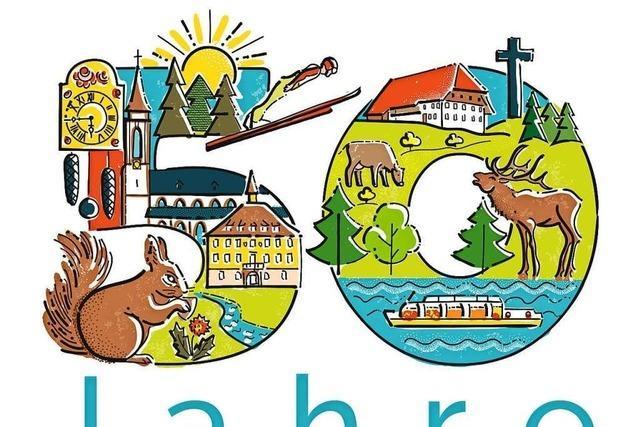 Titisee-Neustadt wird 50 und feiert
