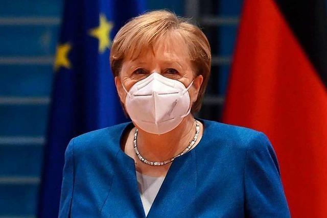Kanzlerin Merkel rechnet mit harten Corona-Maßnahmen bis Ostern