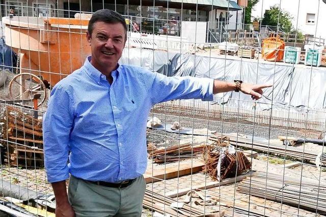 Bürgermeister Volker Kieber kandidiert für zweite Amtszeit
