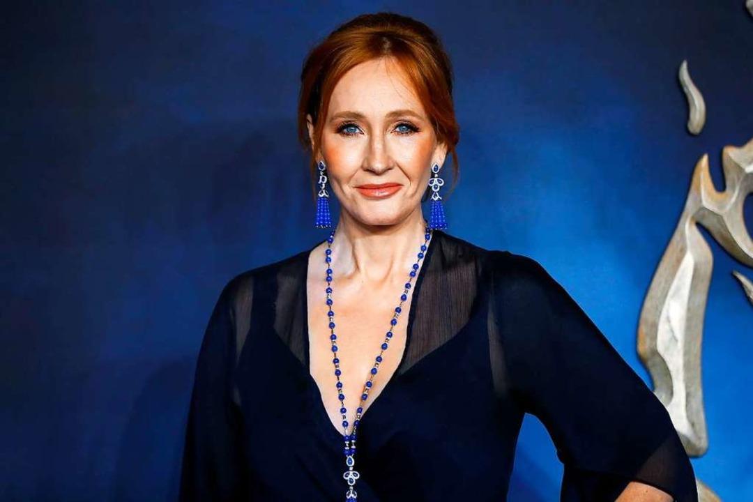 Gibt sich in  ihren Kriminalromanen al... Joanne Rowling alias Robert Galbraith  | Foto: TOLGA AKMEN (AFP)