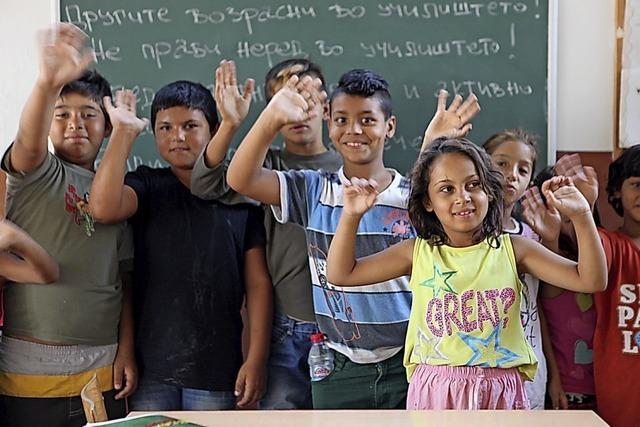 Spenden für Roma-Kinder