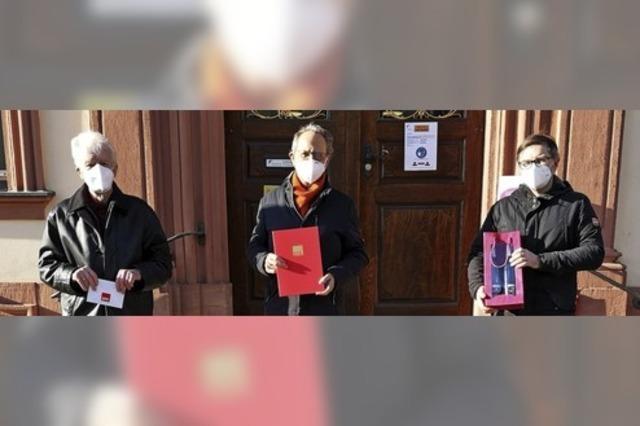 Die SPD ehrt Alt-Oberbürgermeister Wolfgang Bruder