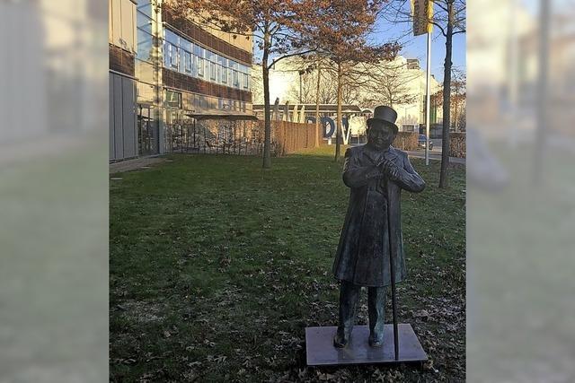 Die Andres-Statue ist auf Reisen, kehrt aber in die Stadt zurück