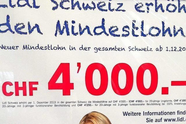 Mindestlohn: In Basel soll man von einer Vollzeitstelle leben können