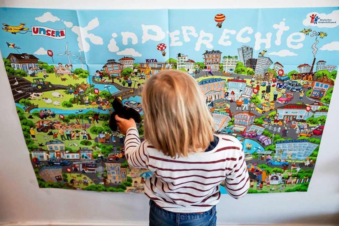 Keine Verbesserung für Kinder sieht No...on SPD und CDU in Sachen Kinderrechte.    Foto: Christoph Soeder (dpa)