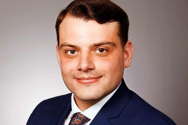 Die AfD kürt den angehenden Handwerksmeister Karl Schwarz als Kandidaten