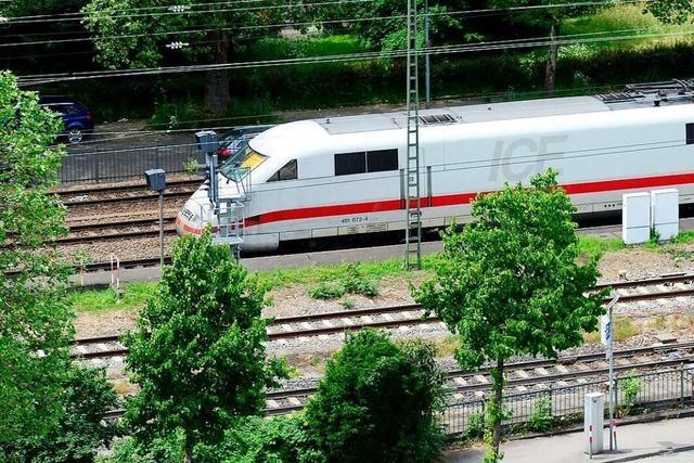 Bahn plant nächtliche Probebohrungen in Freiburg entlang der Strecke