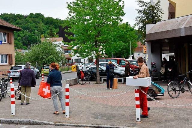 Der Handel in Grenzach-Wyhlen ist froh über Abholmöglichkeiten