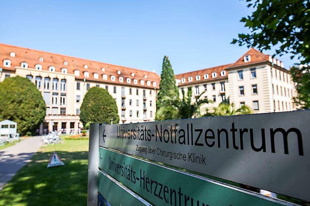 Die Universitätsklinik Freiburg ist ei...rbund beteiligten Unikliniken im Land.  | Foto: Philipp von Ditfurth