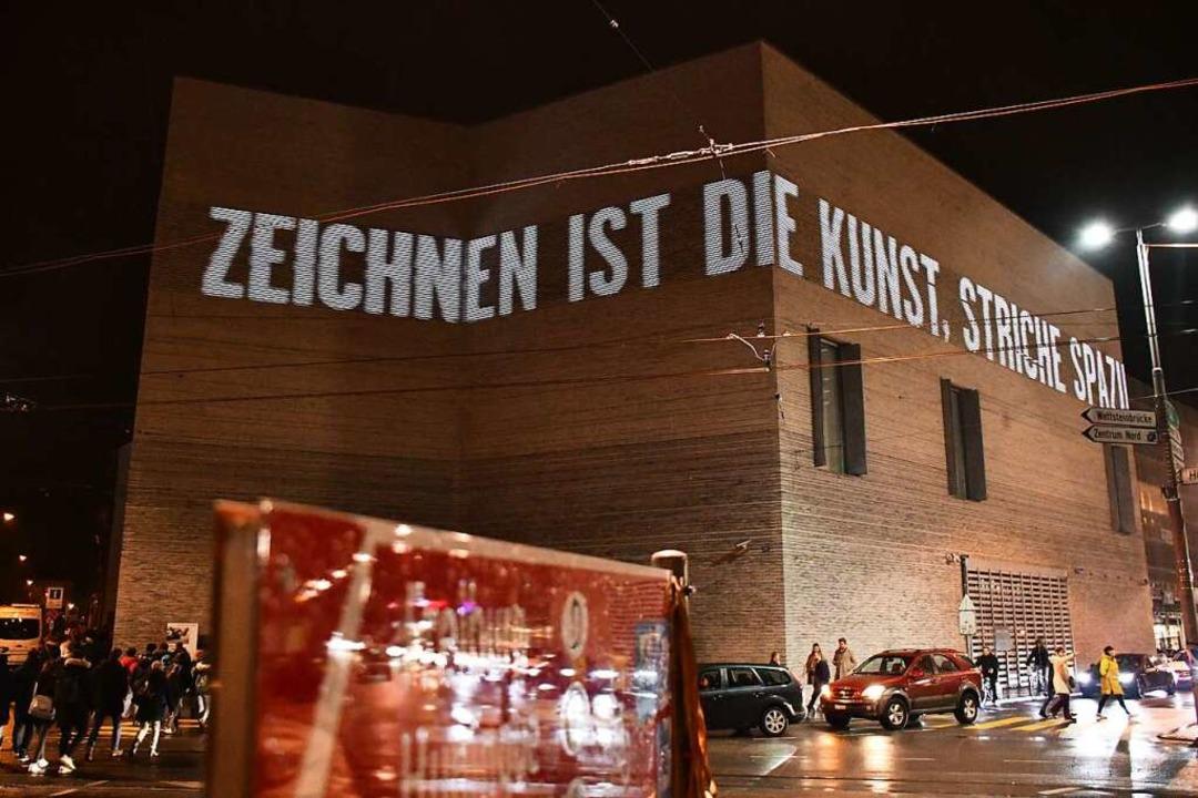 Das Kunstmuseum bei der vergangenen Museumsnacht  | Foto: Barbara Ruda