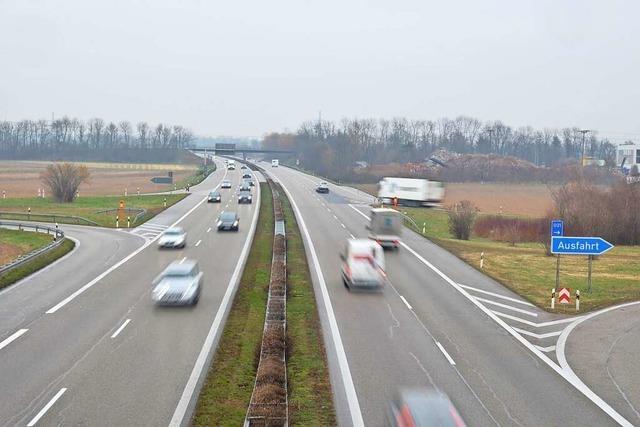 Im Februar droht Stau auf der A5 zwischen Lahr und Herbolzheim