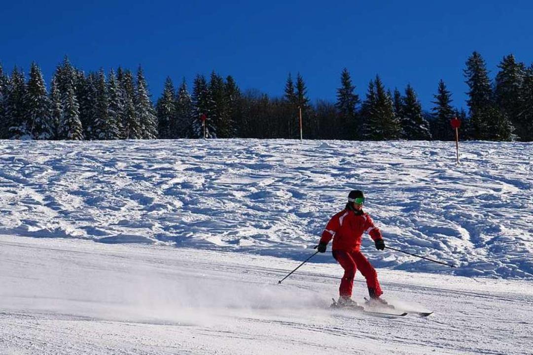 Ideale Wintersportbedingungen in Todtnauberg  | Foto: Patrick Kerber