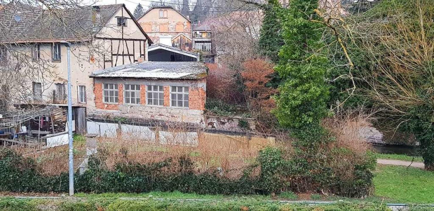 Zwischen Mühlbach und Karl-Friedrichst... integratives Wohnprojekt entstehen.    | Foto: Gerhard Walser