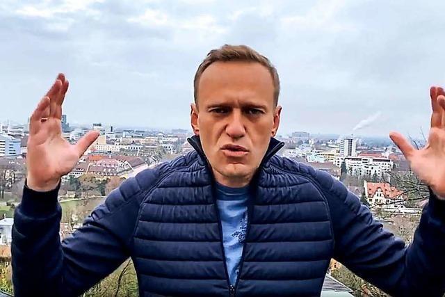 Alexej Nawalny, sind Sie in Freiburg?