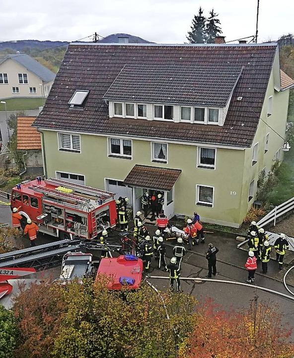 Bei einem Brand Ende Oktober in Ewatti...wurde ebenfalls eine Person verletzt.   | Foto: Stefan Kech