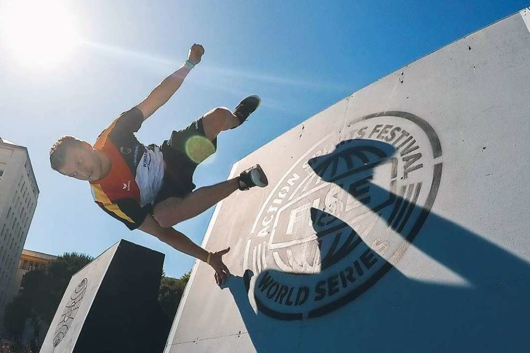 Andy Haug bei einem Wettkampf  | Foto: privat
