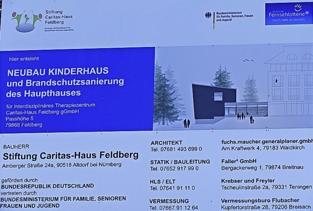 Viele  Förderer hat das neue Kinderhaus.  | Foto: Ralf Morys