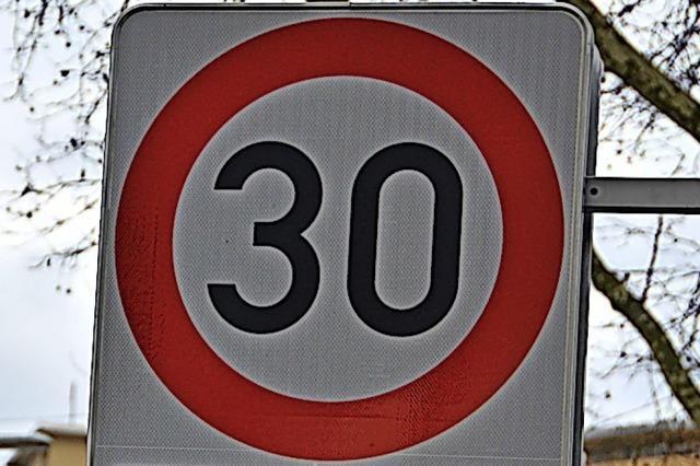 Haagen beharrt auf Tempo 30