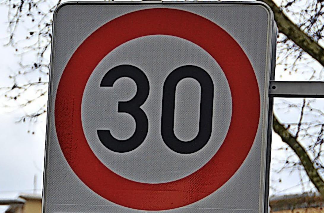 Hagen will mehr  Tempo 30 im Ort    Foto: Anika Maldacker