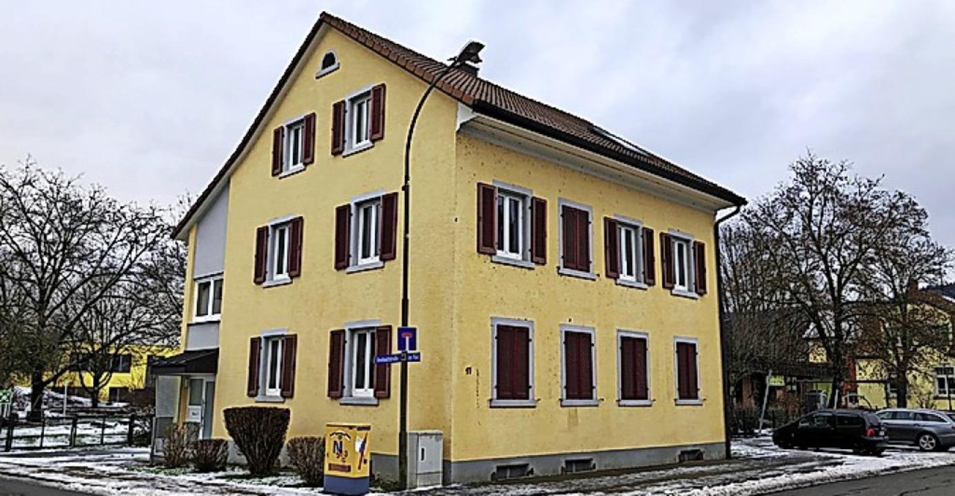 Das Haus Neue Straße 17 wird saniert.   | Foto: Monika Weber