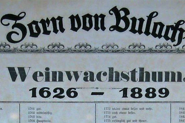 Ein Unglück kommt selten allein – 1632 hieß das für Durbach: Saurer Wein – und die Schweden plündern