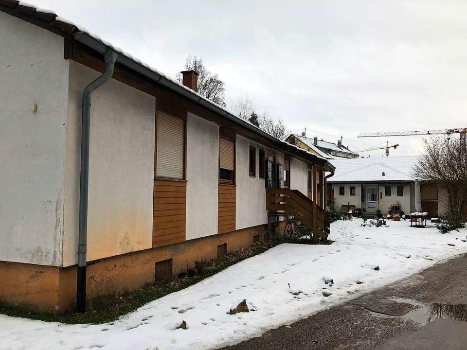 Das linke der beiden Gebäude der Obdac...muss wahrscheinlich abgerissen werden.  | Foto: Monika Weber