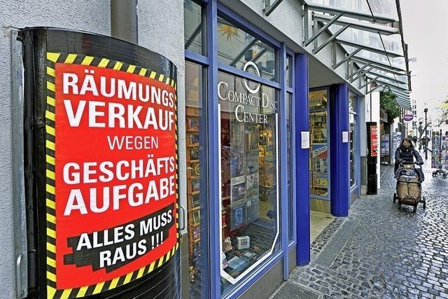 Mit dem Compact Disc Center schließt ein Freiburger Traditionsgeschäft