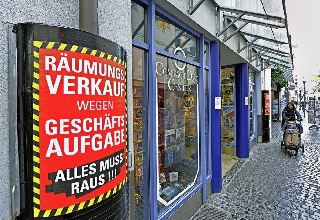 Seit 1987 ist das Compact Disc Center eine feste Größe an der Schiffstraße.  | Foto: Michael Bamberger