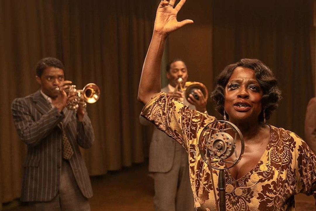 Großartiges Schauspiel: der verstorben...vee (links), Viola Davis als Ma Rainey  | Foto: David Lee/NETFLIX