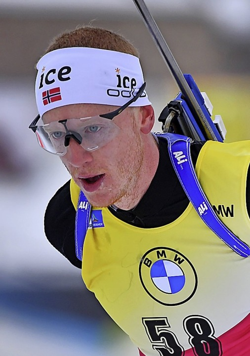 Johannes Thingnes Bö  | Foto: Martin Schutt (dpa)