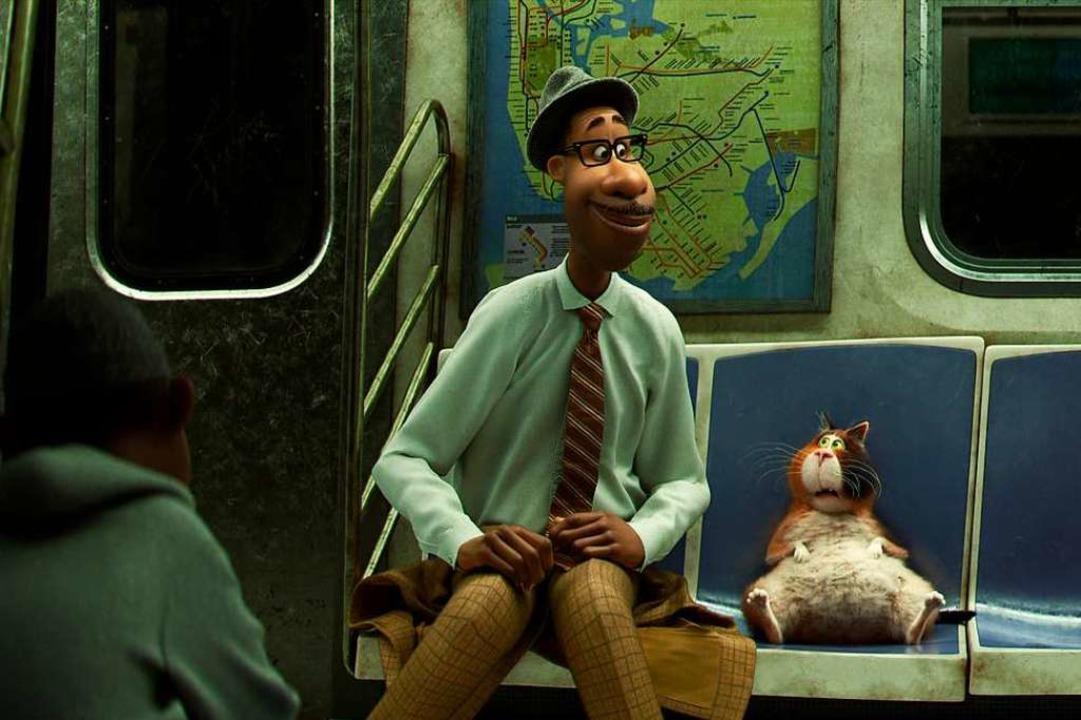 """Der Film ist etwas sehr Besonde...Jonas Jarvers über ""Soul"".  | Foto: Pixar Animations Studio"