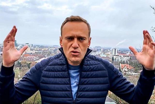 Nawalny hat keine andere Wahl, als zurückzukehren