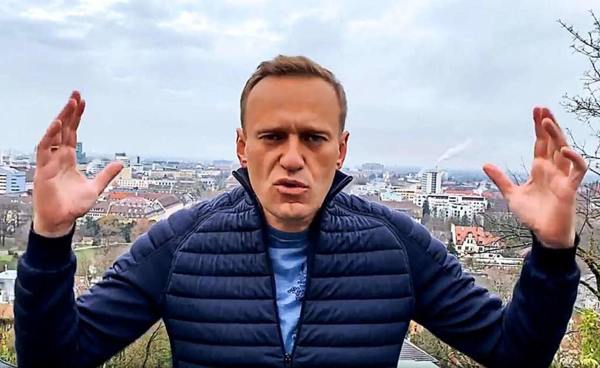 Alexej Nawalny  | Foto: Navalny Instagram Account (dpa)