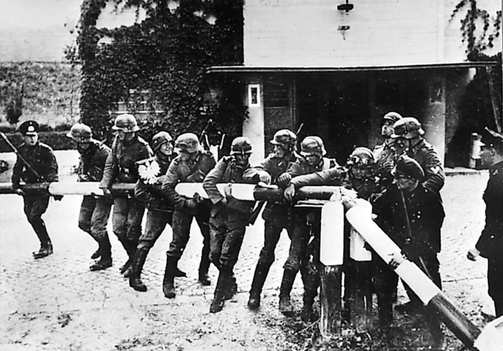 Auftakt eines unmenschlichen Besatzung...ist der Beginn des Zweiten Weltkriegs.  | Foto: dpa