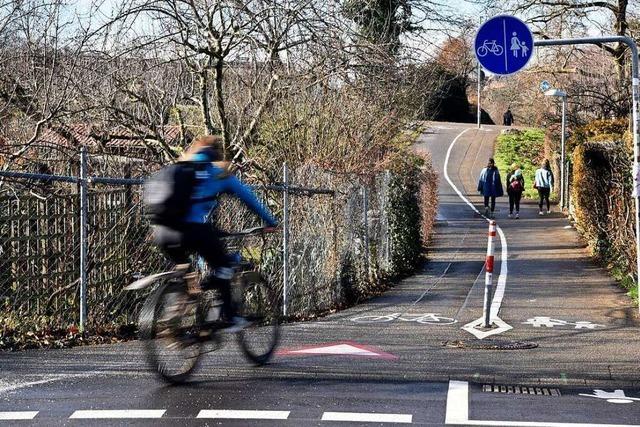 Freiburg bekommt eine neue Rad-Vorrang-Route Richtung Osten