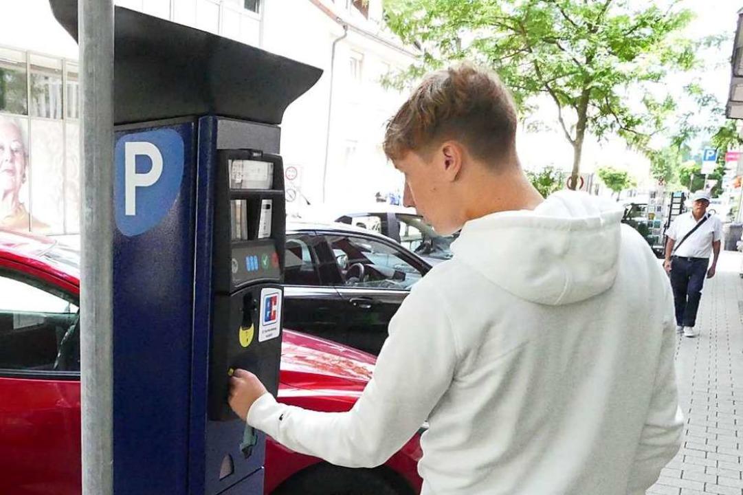 2021 werden weitere Parkscheinautomaten aufgestellt.  | Foto: Elena Borchers