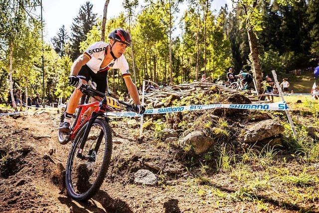 Greift der Rheinfelder Mountainbiker Tim Meier noch einmal an?