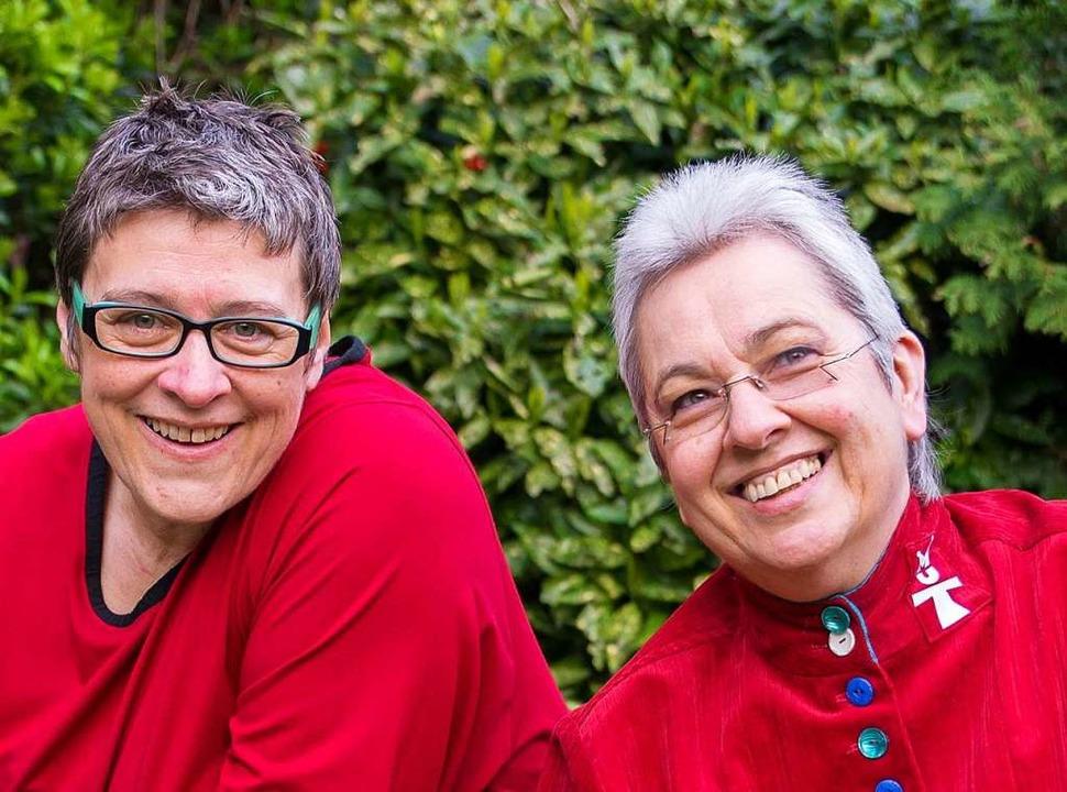 Sonja Blattmann l(inks) und Karin Derks  | Foto: MuT Zentrum für Gewaltprävention