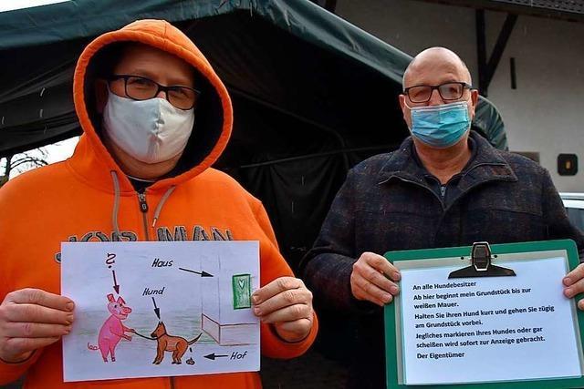 Den Anwohnern in Rheinfelden-Herten stinkt der Hundekot gewaltig