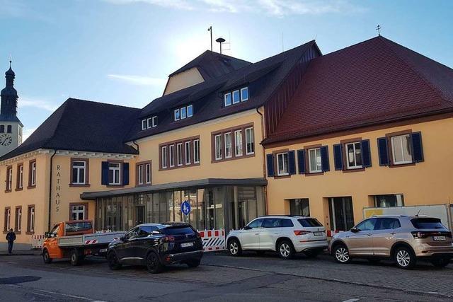 Seelbacher Mitarbeiter kehren zurück ins sanierte Rathaus