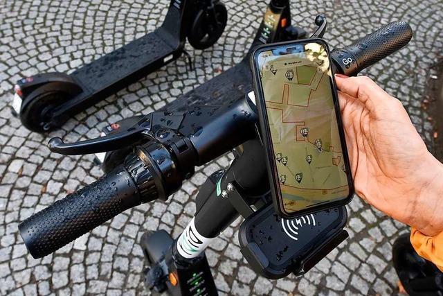 Neue Leih-E-Scooter in Freiburg werden gut angenommen