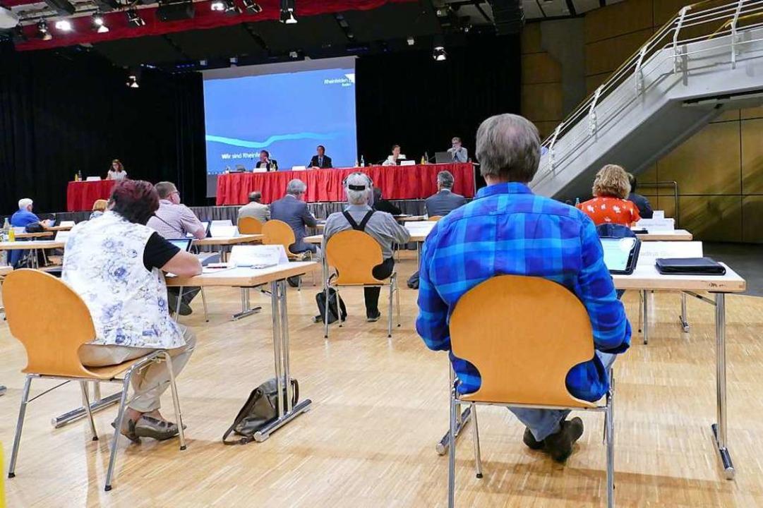 Im Bürgersaal gab's 2020 mehr Kommunalpolitik als Kultur.  | Foto: Verena Pichler