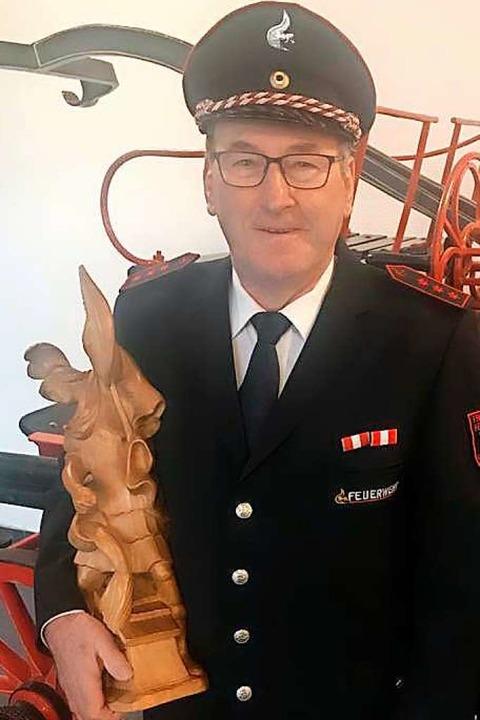Seit 50 Jahren gehört Helmut Nübling der Denzlinger Feuerwehr an.  | Foto: FW Denzlingen