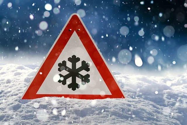 Schneefälle in Baden-Württemberg können bis Freitagfrüh anhalten