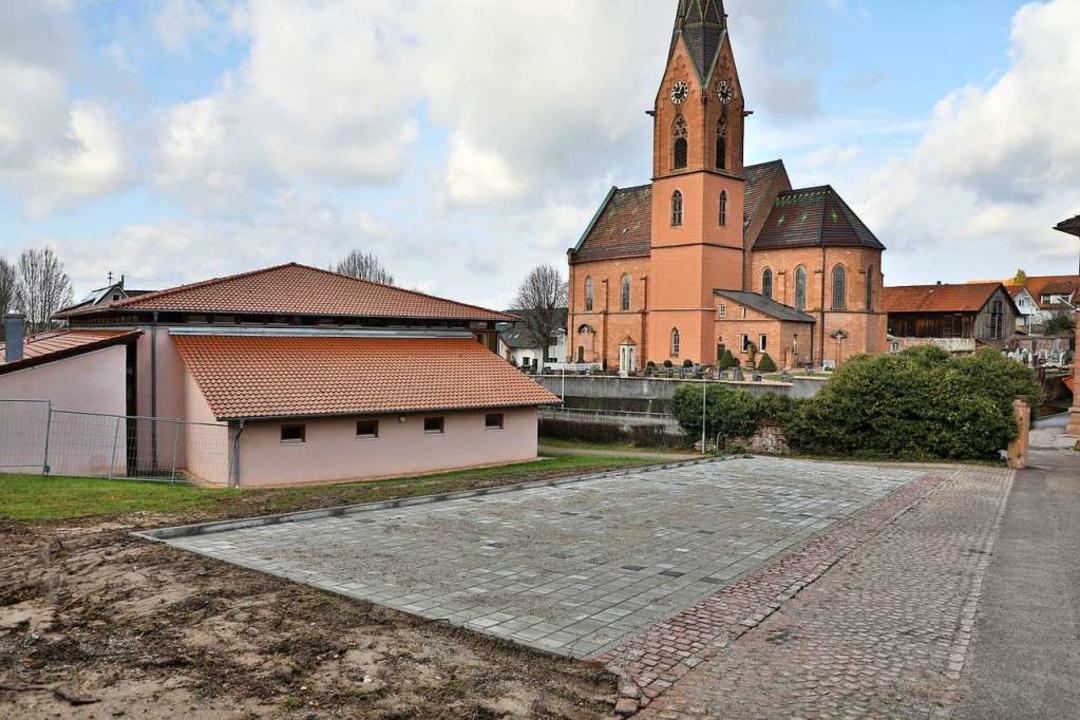 Die gewünschten neuen Parkplätze sind ...nten der Corona-Praxis genutzt werden.  | Foto: Christoph Breithaupt