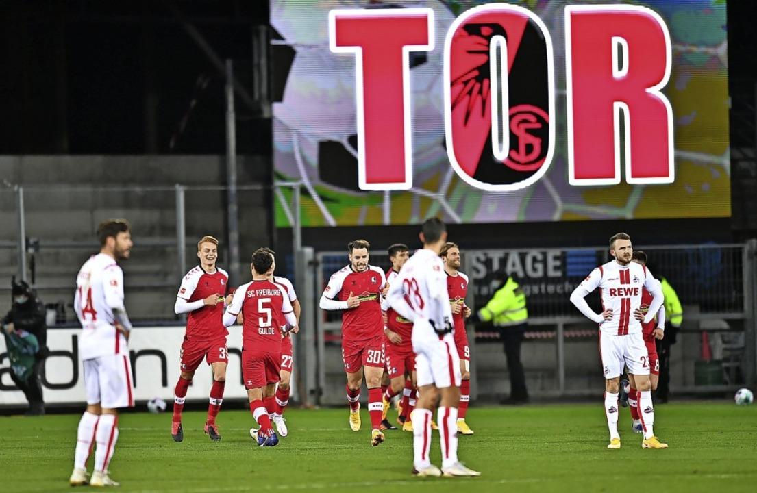 Tore für den SC  Freiburg (hier im Spi... vergangenen Wochen  keine Seltenheit.  | Foto: SC Freiburg/Achim Keller