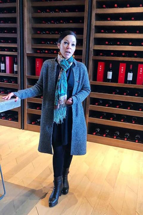 Christelle Chen vom Weingut Xige  | Foto: Fabian Kretschmer